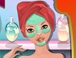 لعبة تنظيف ومكياج الوجه